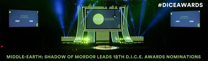 Don't Miss the Best D.I.C.E. AwardsEver!