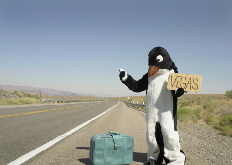 Penguin wasn't going to let his dreams melt awaytoo…
